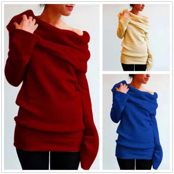 Stacked collar cotton solid color fashion temperament long sleeve ladies coat factory direct spot