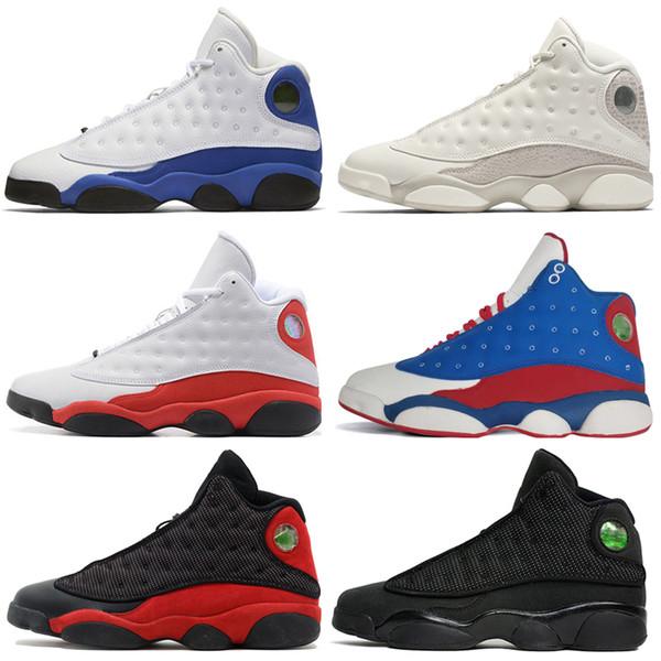 13 13s Mens Basketball Shoes Phantom Chicago GS Hyper Royal Black Cat Flints Bred Brown Wheat CP3 PE Home men sports sneakers women designer