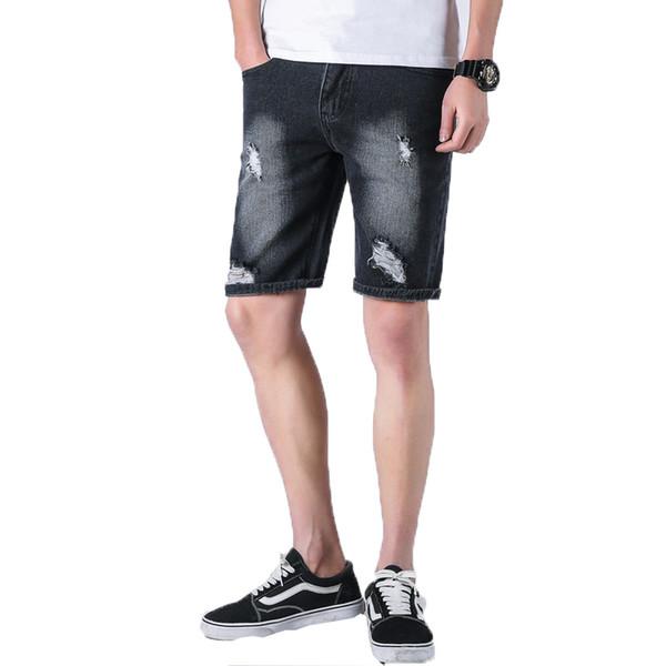 9926a2ae838 2018 summer mens short jeans brand clothing bermuda summer board shorts  thin breathable denim shorts male