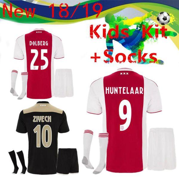 18e54881811 Best 2018 2019 Children s Soccer Jersey 18 19 Home away Children s Soccer  Jersey + Socks 2019