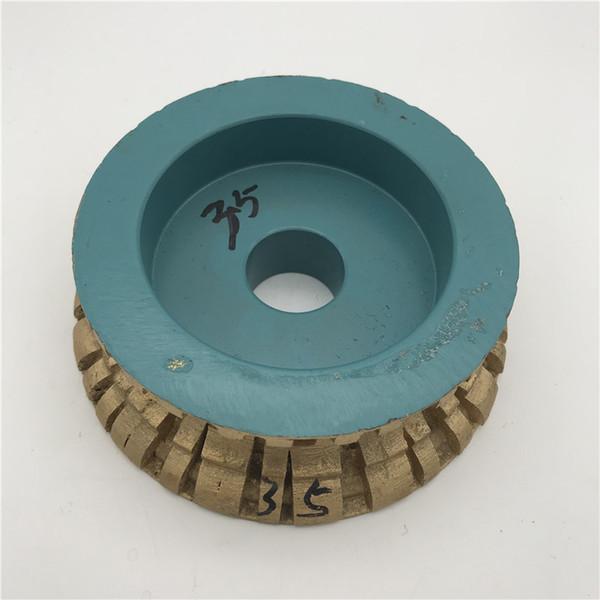 Diamond Sintered Profile Wheel 140 mm for Granite Grinding Wheel Abrasive Tool Thickness 35 mm inner Hole 30 mm