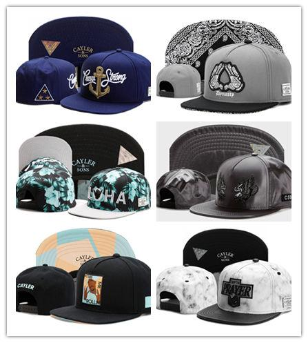 Newest Hot CAYLER & SON Hats New lightning hand Snapback Caps Men Snapback Cheap snapbacks Sports Fashion Caps brand hip hop