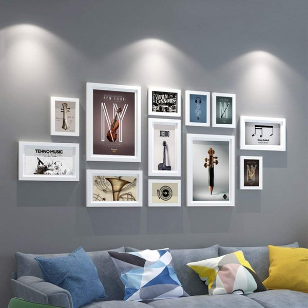 Photo Frame Wall Gallery Kit : Art Painting Core,for Interior dining room living room dining room