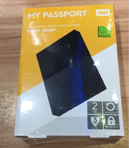 "2018 NEW 2TB Portable External Hard Drive USB3.0 2.5"" 2TB hard disk Black"