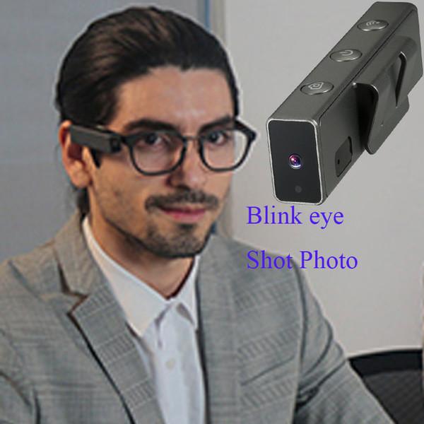 Nueva Tecnología Toptronics Paka inteligente mini cámara Wink Glasses parpadeo para tomar la foto para Youngth Viajar cámara de control de ojos