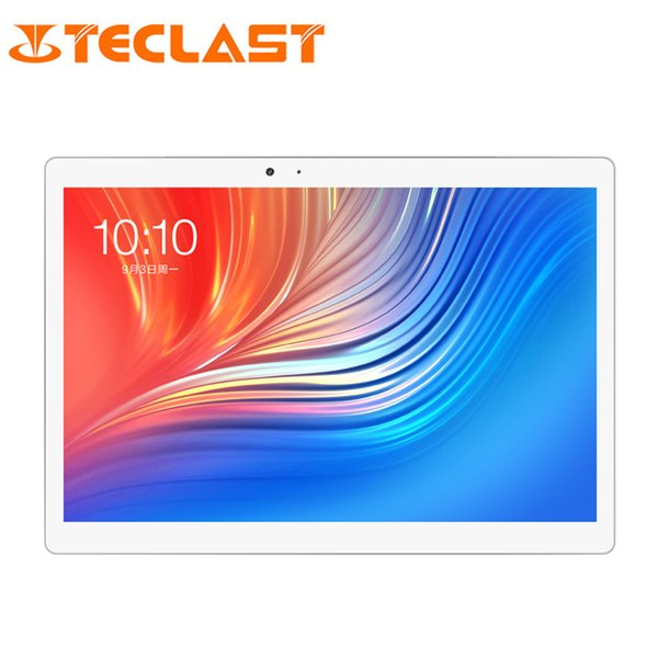 10,1 pouces Teclast T20 Dual 4G Téléphone Tablet PC 2560 * 1600 MT6797 X27 Deca Core Android 7.0 4GB RAM 64GB ROM 8100 mAh Dual Wifi