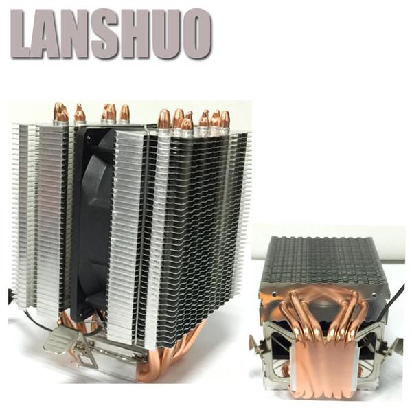 LANSHUO AMD Intel CPU Processor Cooling Fan Cooler Fan heat sink Processor Cooling Fans 775 1155 1150 1366 2011