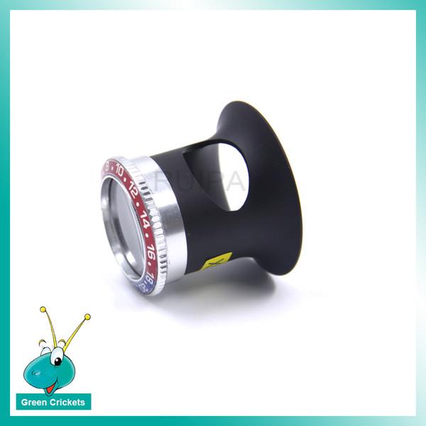 High-End İzle Onarım Aracı 3X Optik büyüteç Büyüteç Alumium Alaşımlı Gövde Temiz Lens ile Rlx Bezel Izle Aracı için saatçi