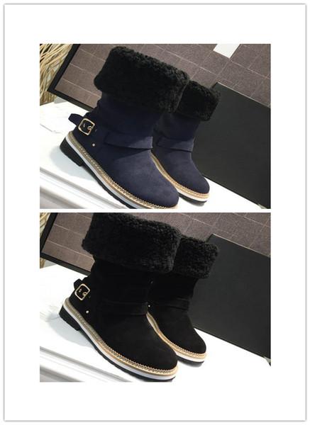 Women's winter boots 2018 winter footwear slingback women's boots leisure lovely warm shoes fashion snowshoe women's boots