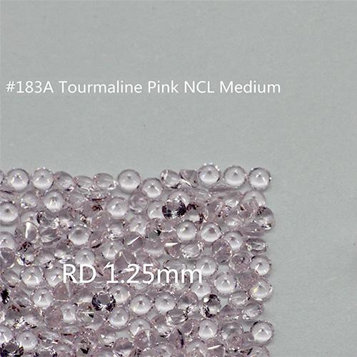 Pink Color 2mm Round Nanogem Crystal Facet Cut Top Quality Thermostable Synthetic Loose Gemstone For Jewellery 1000pcs Per Color A Lot