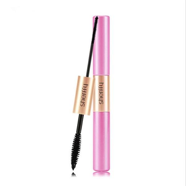 New Fashion Double Ended 3d Fiber Mascara Waterproof Nourish Makeup Lash Rimel Curling Eyelash Extension Make Up