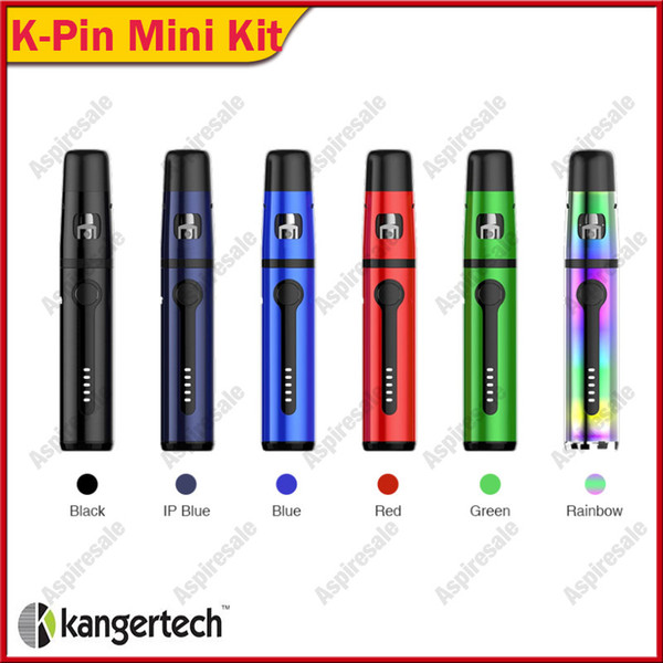 Authentische Kanger K-Pin Mini All-in-One Starter Kit 2ml Tank mit 1500mAh eingebauter Batterie