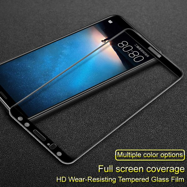 "Full Cover Tempered Glass for Huawei Mate 10 Lite 5.9"" Screen Protector for Huawei Nova 2i for Huawei Honor 9i Protective Film"