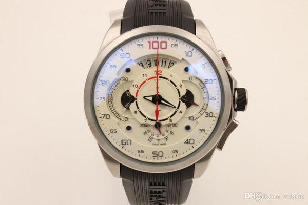 2018 gute quarz china Silber fall verkaufen gut Chronograph marke männer uhr edelstahl uxury armbanduhr herrenuhren