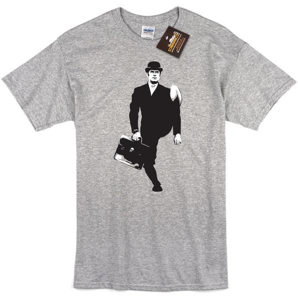 Kids Soft Cotton T Shirt Monty-Python Stylish Crewneck Short Sleeve Tops Black
