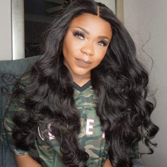 2018 10a grade in stock 100% unprocessed remy virgin human hair natural color long big curly full lace wig for women