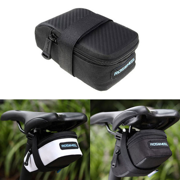Bicycle Saddle Bag Portable MTB Bike Rear Bag Seat Tube Pouch Cycling Rear Seat Tail Large Bicycle Accessories