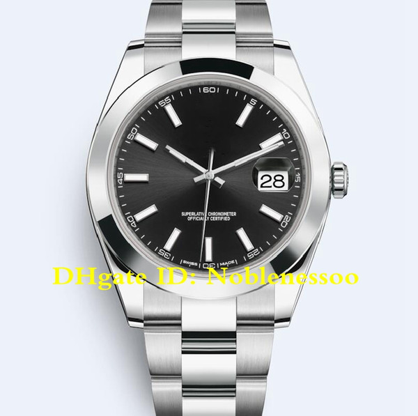 17 Style Luxury Mens Watch 41mm President Datejust 116334 126333 126334 126300 126331 126301 Asia 2813 Movement Mechanical Automatic Watches