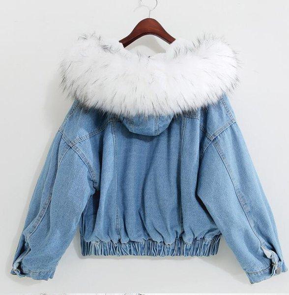 White Fur Collar