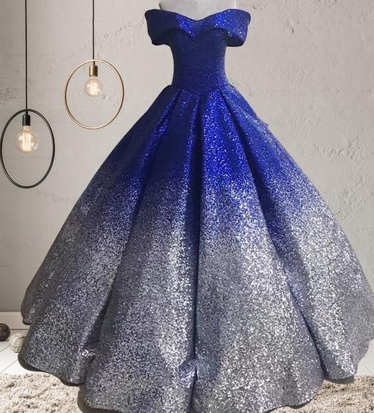 Blau + Silber