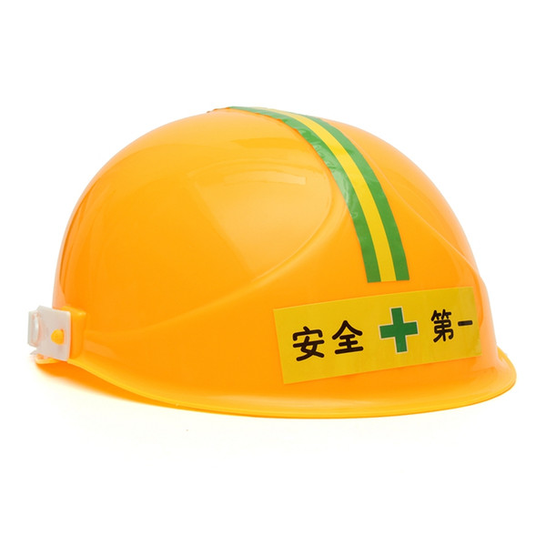 Plastic Safety Helmet Kids Engineer Tools Toys the Builder Hat Dress Up Pretend Play Construction Toys for Boys Children
