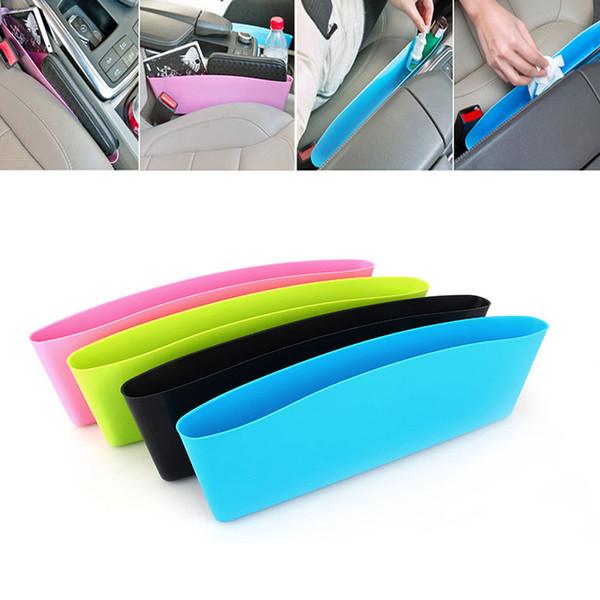Car Organizador Caixa De Armazenamento para o Telefone Móvel Kits Chave Leak-Proof Stowing Bins Bag Auto Assento De Enchimento Caixa De Lixo