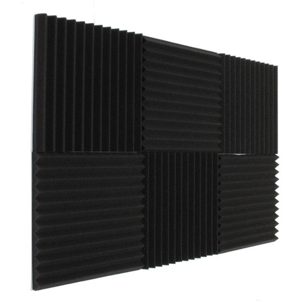 best selling 2017 Fireproof Newest Acoustic Foam Soundproof Studio Sound Proofing Room Treatment Absorption 30*30*3 cm