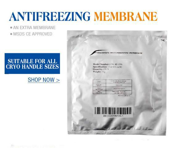 best selling DHL Anti-freezing Membrane Pad Antifreeze Membrane 27*30CM 34*42CM Antifreezing Membrane Cooling Therapy Pads For Weight Loss Cryo Therapy