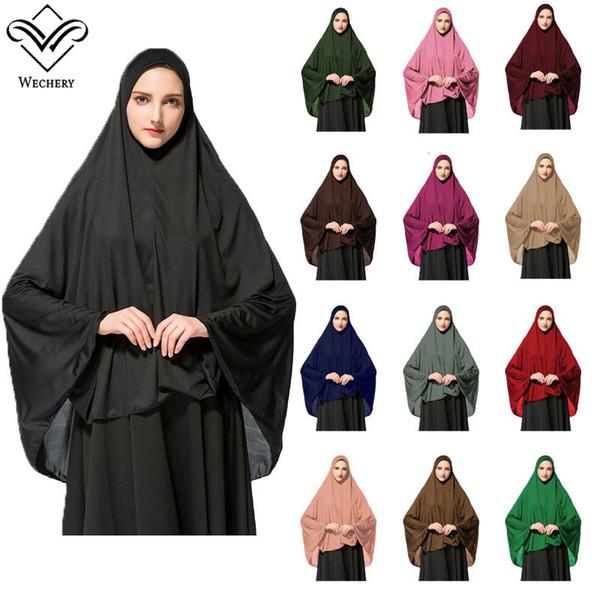 Großhandel Islamische Hijab Short Abayas Für Frauen Muslimische