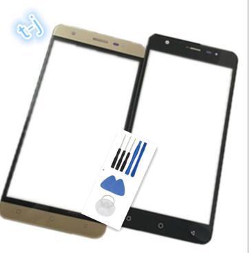 5.0 inç Vertex Impress Eagle Için Dokunmatik Ekran Ön Cam Panel Sayısallaştırıcı Tamir Parçaları Lens Değiştirme Cep telefonu