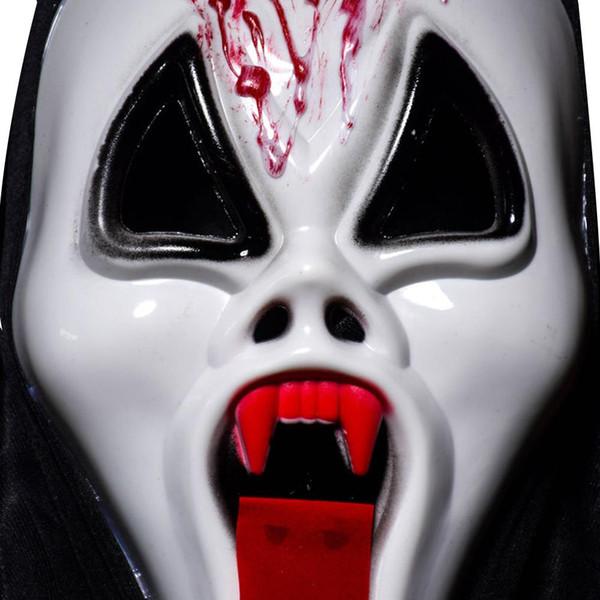 2018 Creative Ghost Festival Whole Person Halloween Mask Full Face Props Horror Single Devil Horrible Fancy Dress Horror Mask