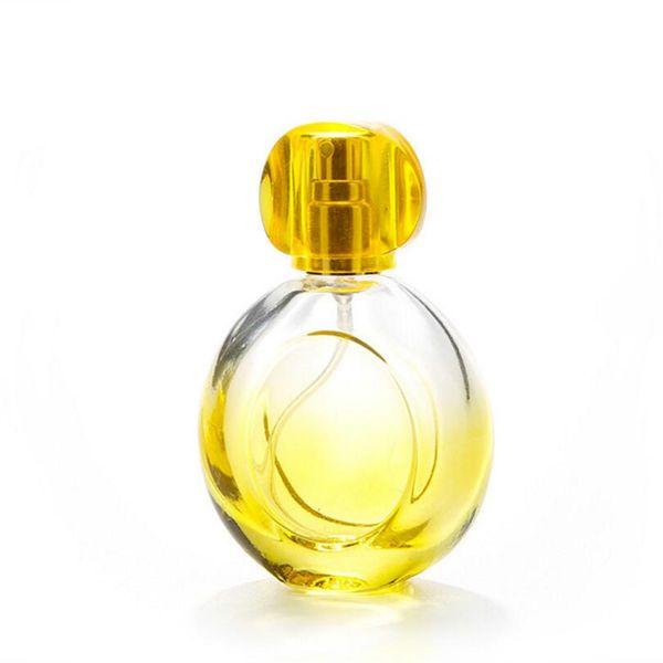 Großhandel heißer verkauf 100 stücke mode 30 ML Bunte Glasduftstoffflasche Leere Parfümflaschen Farbige Sprayflaschen neue