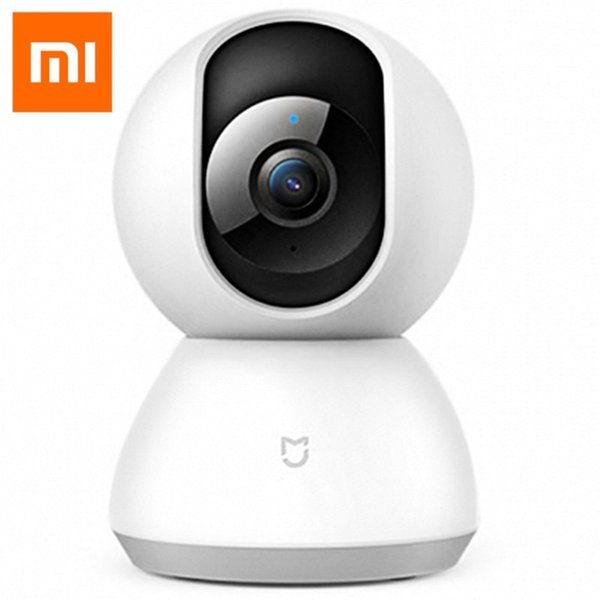 Original Xiaomi MiJia 1080P WiFi IP Camera Pan / Tilt Mi Home APP Control 360 Degree Viewing Two-Way Audio Panoramic CCTV Camera
