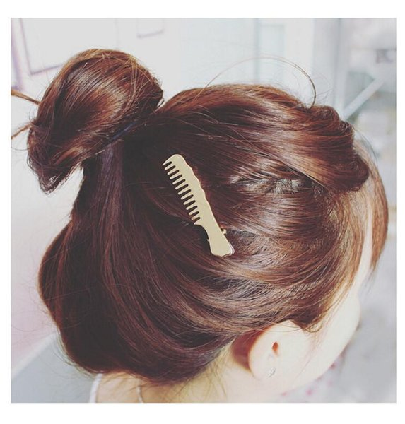 Hot style selling female 1001 temperament comb duckbill clip Bang clip hair small adorn article hair clips