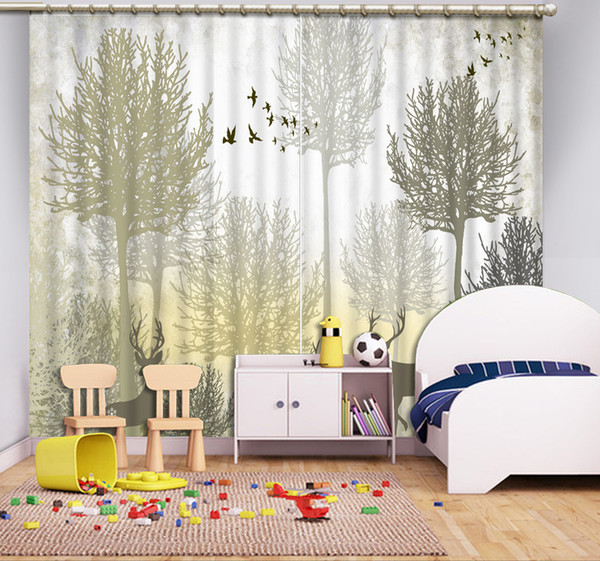 2019 Custom 3d Cortinas Snow Designer Cafe Curtain Tende Soggiorno 3d  Stereoscopic Living Room Window Blinds 3d Luxury Curtains From Yiwu2017,  $200.0 ...