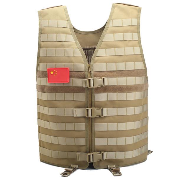Homens Tactical Vest Equipamentos de Trabalho Camo Molle Vest SWAT uniforme de combate Paintball Colete Camouflage