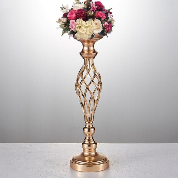 золото/ серебряный держатель для свечи металла свечи стоят свадебные центральным событием дороги ведут икебана стоять best0073