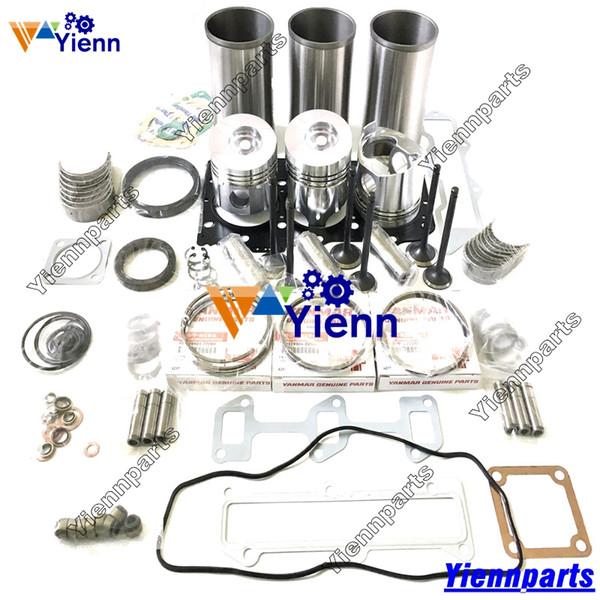 2019 3TNV88 3D88E 5 Overhual Rebuild Kit For Yanmar Engine