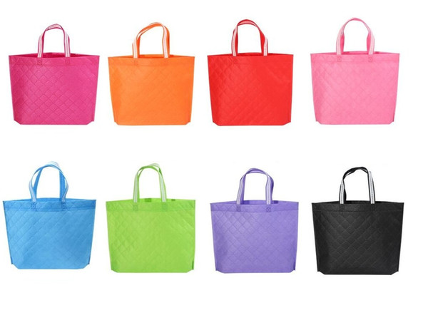 best selling Hot Candy Color Reusable Folding Handbag Women Shopping Bag Fashion Grocery Eco-friendly Tote Reusable Portable Bags
