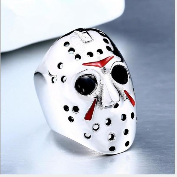 Fashion Ring mask men's rings