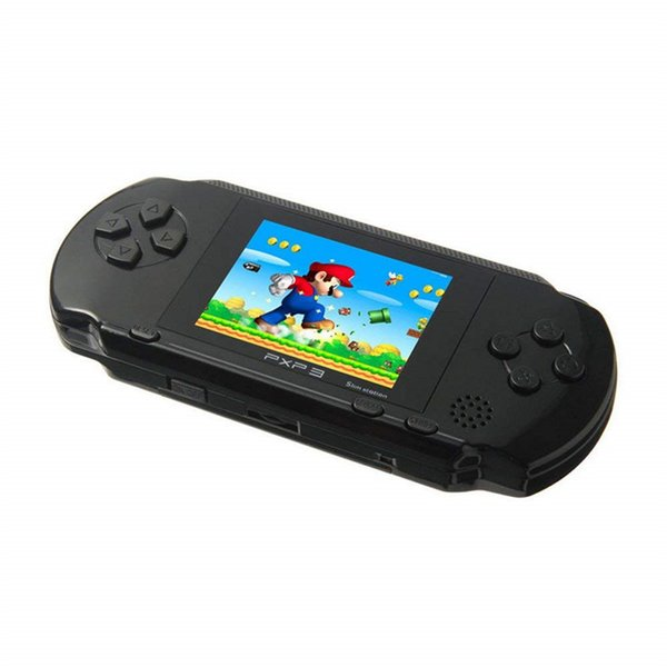 "2.7"" Screen Handheld Video Game Console Portable Game Players 16Bit Classic PXP3 Slim Station 5 Color Pocket Gamepad Console Free Shipping"