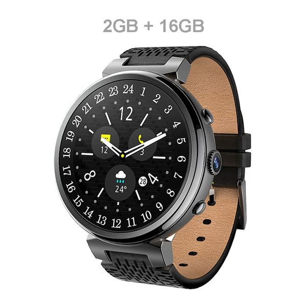 I6 Smart Watch 2MP Camera 2GB/16GB MTK6580 Android 5.1 Bluetooth GPS WiFi 3G Smartwatch Phone For Android&IOS