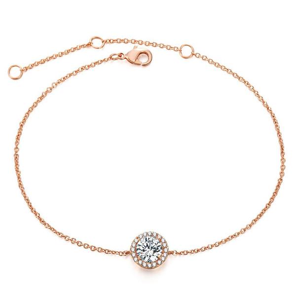XIUFEN Women Bracelet Simple Stylish Lucky Artificial Gem Bracelet Delicate Suitable For Any Clothes