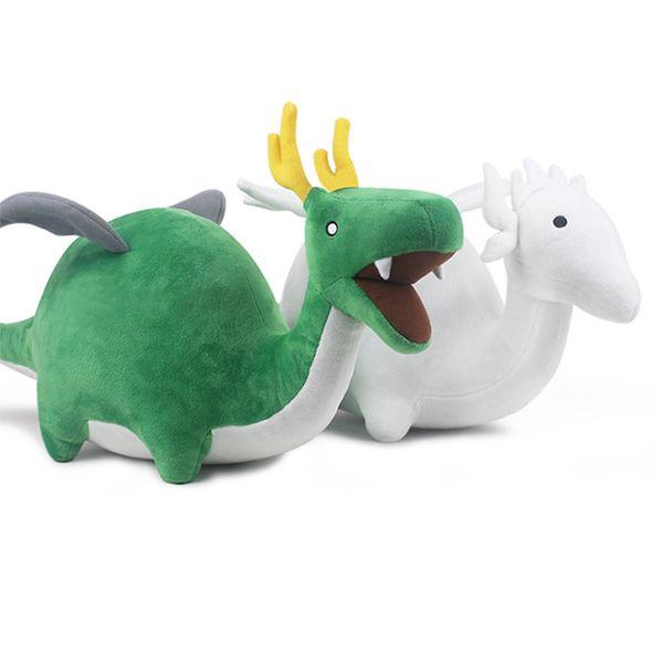 28CM Neuheit lustiges nettes Tierplüschschlafspielzeugqualitäts-heißes Verkaufsgrünweiß weiche angefüllte beste Geburtstagsgeschenke der Puppenmädchen