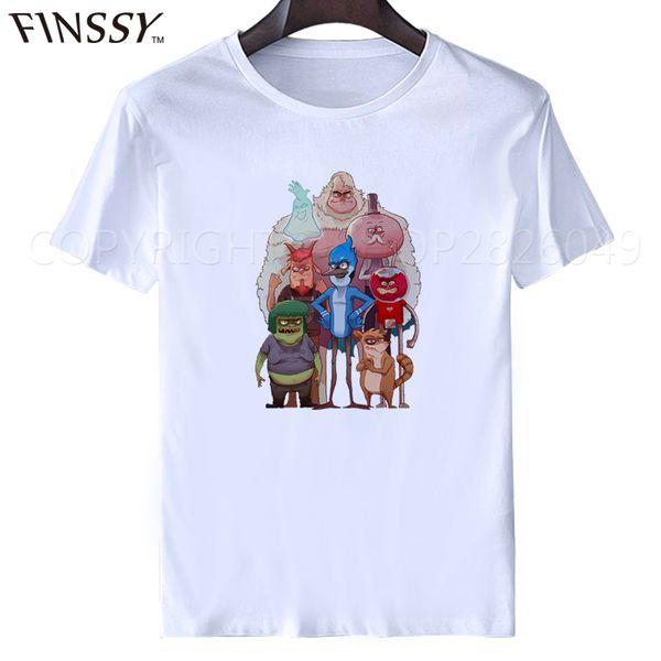 Wholesale-T Shirt Fashion Free Shipping Crew Neck Men Short-Sleeve Regular Show Love Tee Shirts XXXL