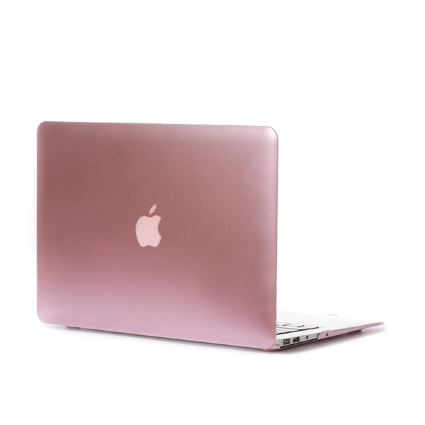 Free Shipping High quality High Temperature metallic Colorful Protective shell Laptop PC Case for Macbook Air 11.6 inch