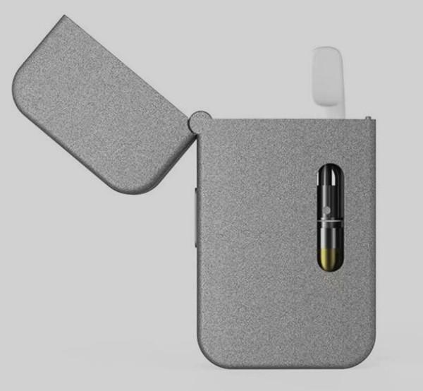 2018 vapor starter kit 650mah preheating M6 battery flip vape with thick oil empty cartridge ceramic tip pink