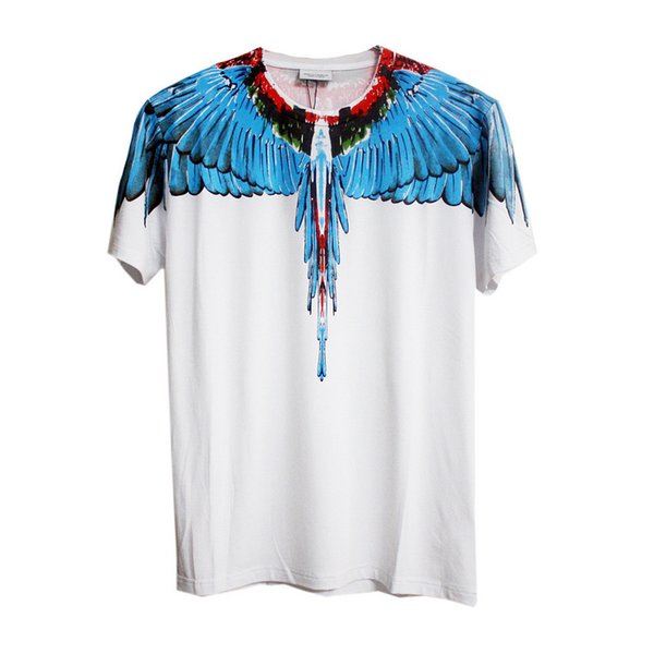 Tide Cotton T Shirts Men Women Italy County Of Milan Feather Wings MB T-shirt Tops RODEO MAGAZINE Tee Trend Men T-Shirts
