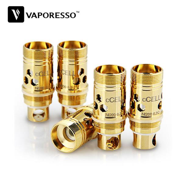 5pcs Vaporesso Ceramic CCELL Bobine de remplacement pour cible / cible Pro / ORC / Gemini / Atlantis / Triton Réservoir E Bobine de clope