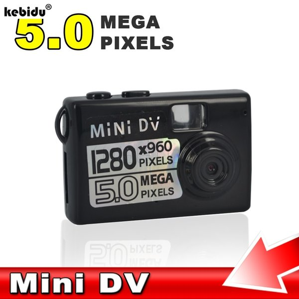 kebidu 2018 HOT 5MP HD Micro Smallest Portable camera Mini DV Digital Camera Video Recorder Camcorder Webcam DVR Recorder 720P
